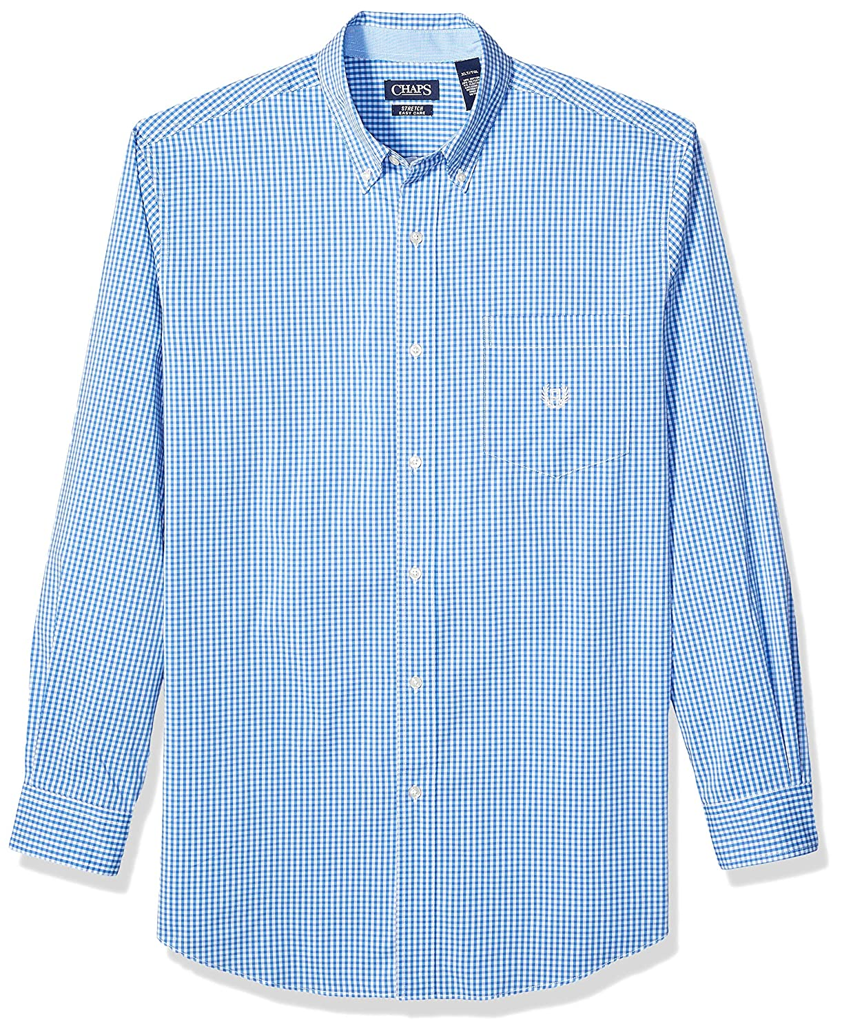 Chaps Mens Big and Tall Long Sleeve Stretch Easy Care Button Down Shirt