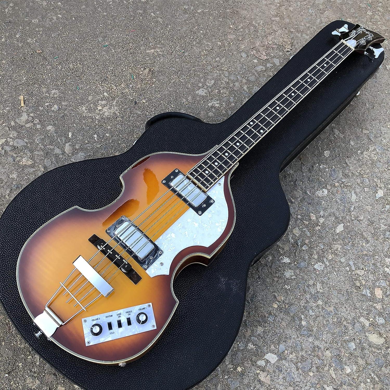 Guitarra de bajo de violín, BB2 Icon Series Hofner 4 cuerdas bajo ...