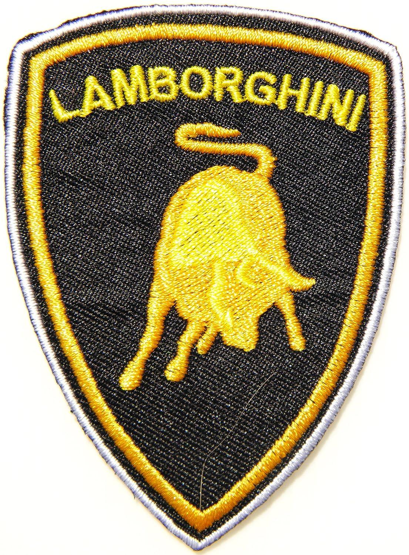 Amazon Lamborghini Racing Car Logo Patch Sew Iron On Applique