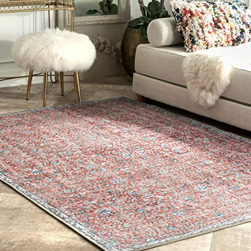 nuLOOM Orlean Transitional Area Rug, 5 3 x 7 6 , Pink