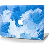StarStruck MacBook Pro Retina 13 Inch Case (2015) Plastic Hard Shell Cover A1502 / A1425 Oil Painting (Blue - Water Paint)