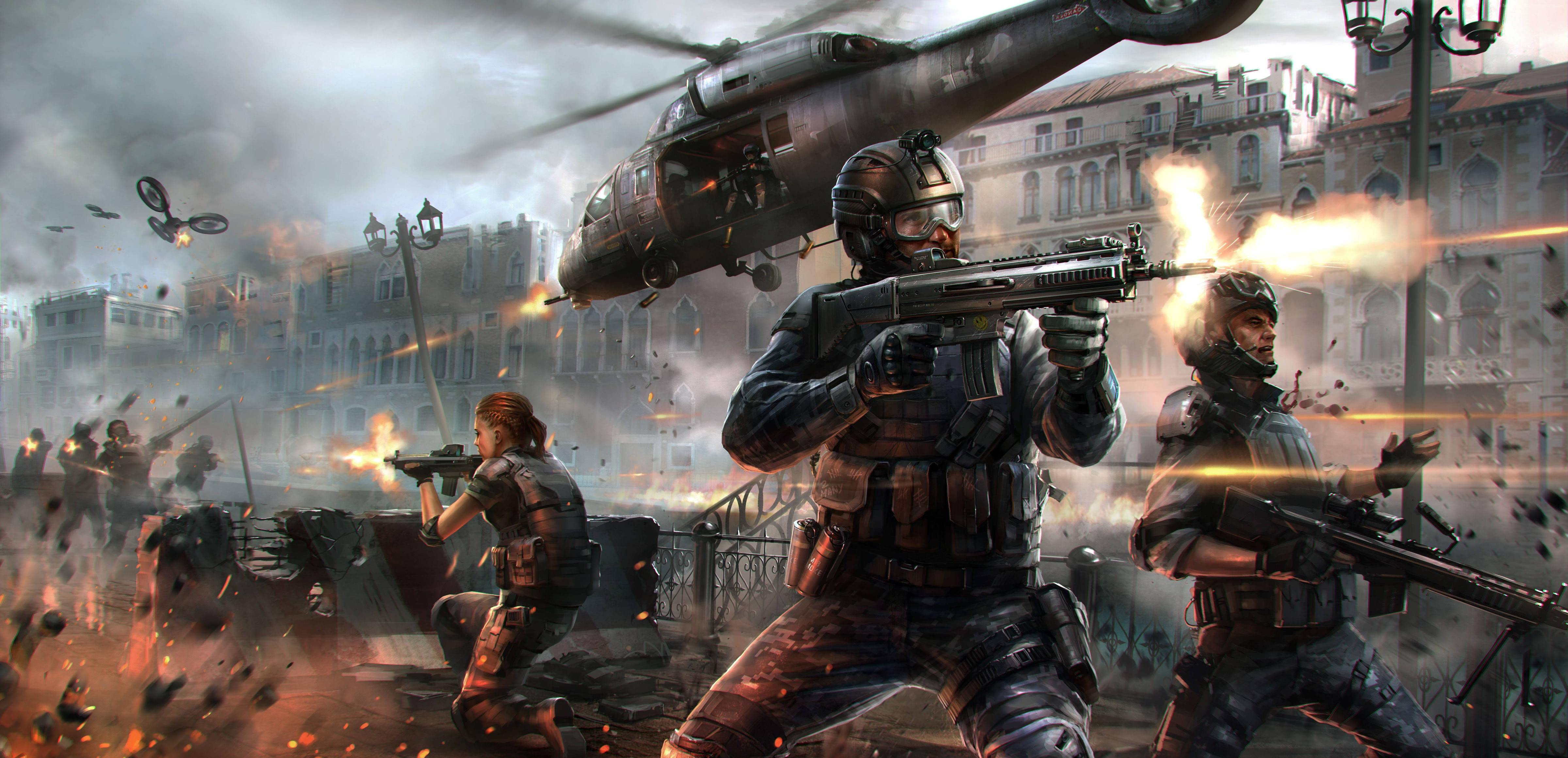 Modern Combat 5 Blackout [PC Code]: Amazon.co.uk: PC & Video Games