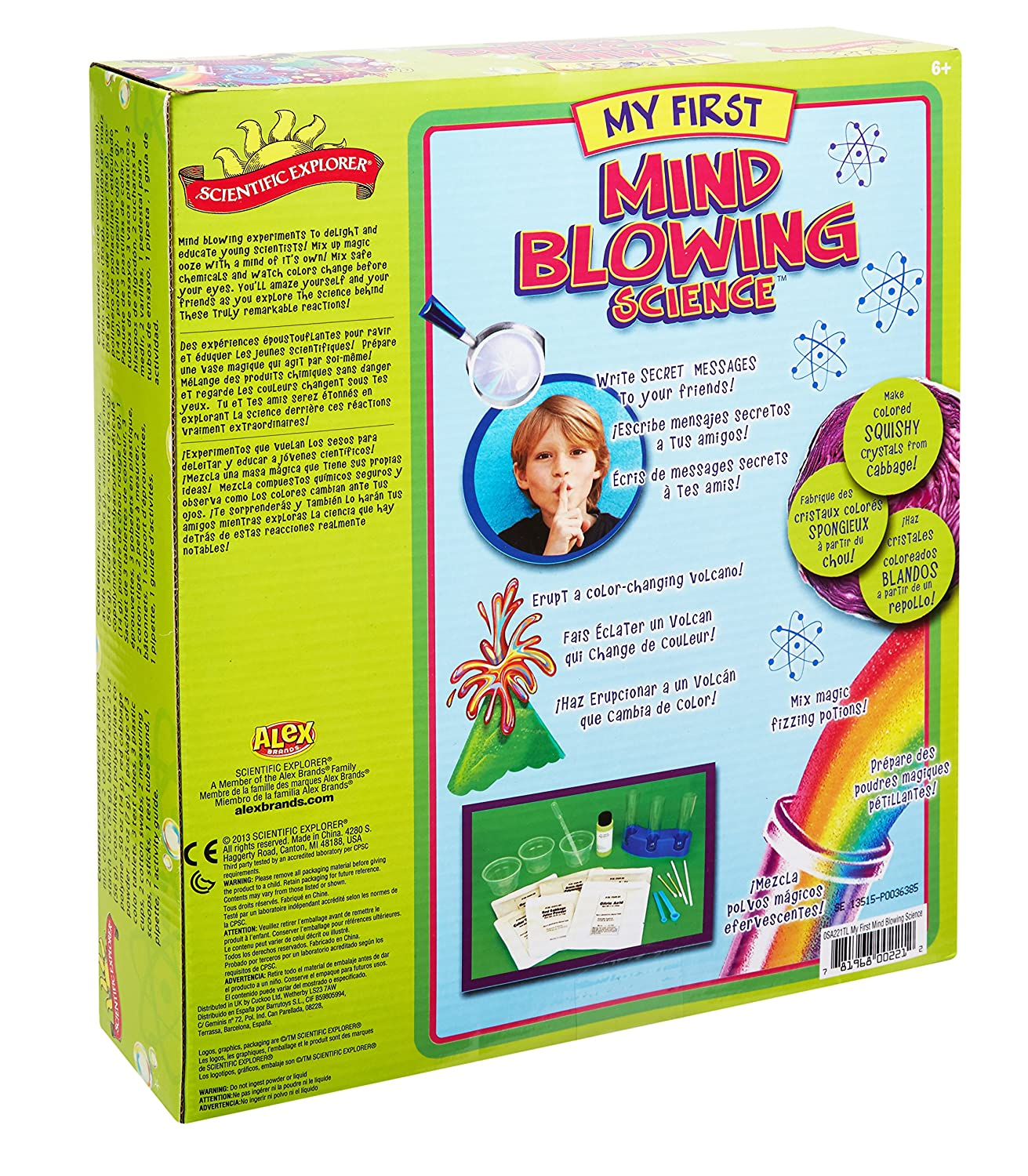 Amazon Scientific Explorer My First Mind Blowing Science Kit