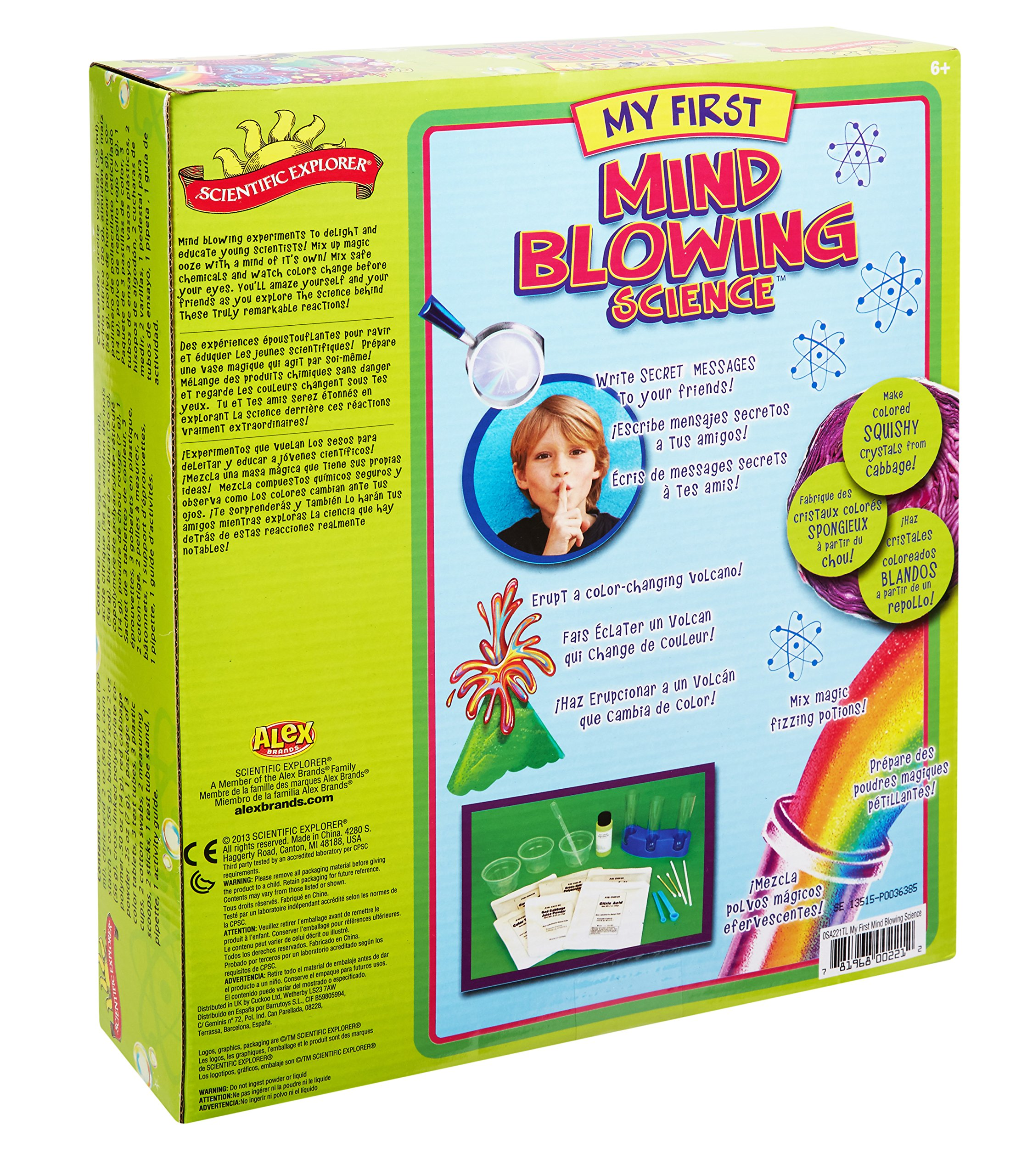Scientific Explorer My First Mind Blowing Science Kit by Scientific Explorer (Image #2)