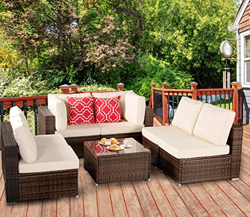 Polaris Garden 7-Piece Outdoor Patio Furniture Set