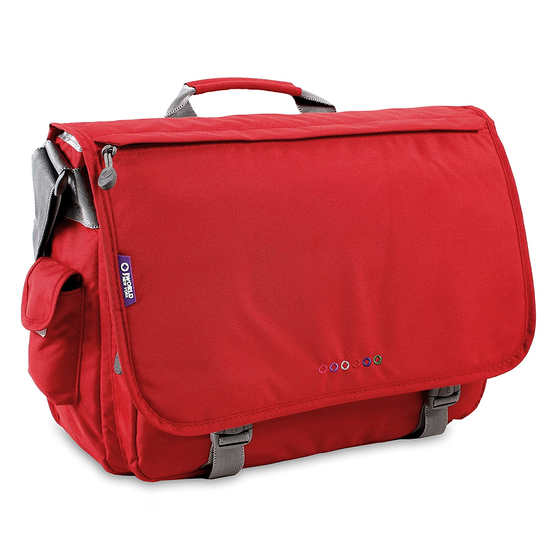 J World New York Thomas Lightweight Travel School Shoulder LAPTOP Messenger Bag fits under 17-inch Laptop in Laptop Sleeve