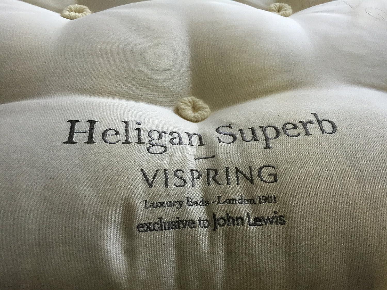 Y#x2605; Vi-Spring Heligan excelente colchón individual 91,44 cm 90 x 190 cm 3 y#x2032;Expresión de 3 y#x2033; Medio: Amazon.es: Hogar