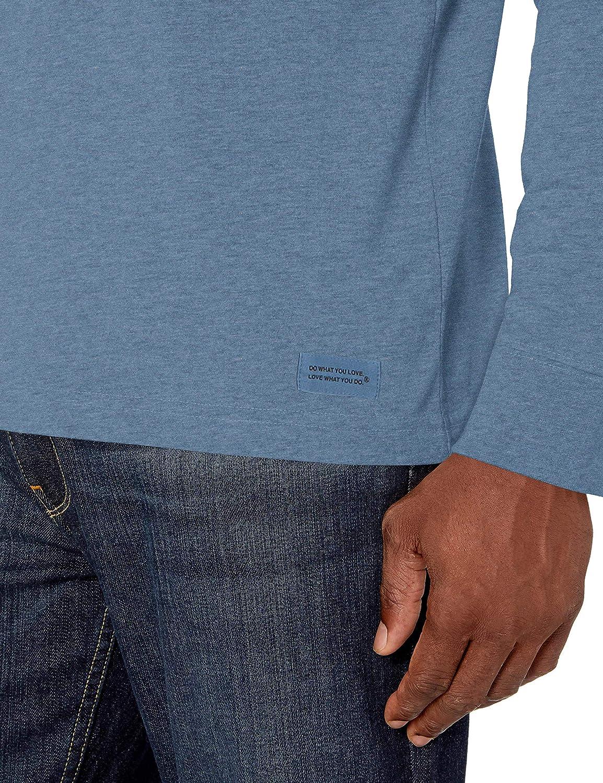 Life is Good Mens Mens Vintage Longsleeve Shirt 4