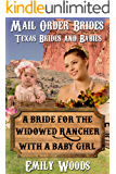 Mail Order Bride: A Bride for the Widowed Rancher with a Baby Girl (Texas Brides Book 1)