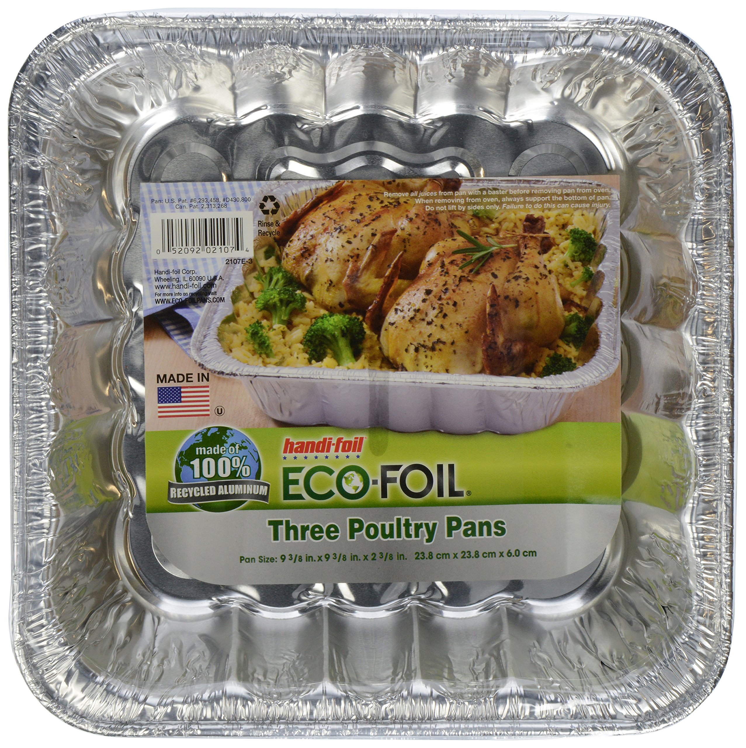 Handi Foil Poultry Pans, 3 ct by Handi-Foil