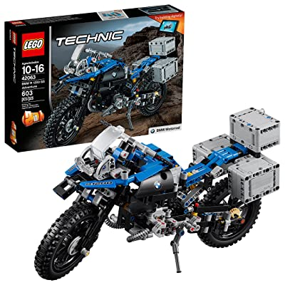 LEGO Technic BMW R 1200 GS Adventure 42063 Advanced Building Toy: Toys & Games