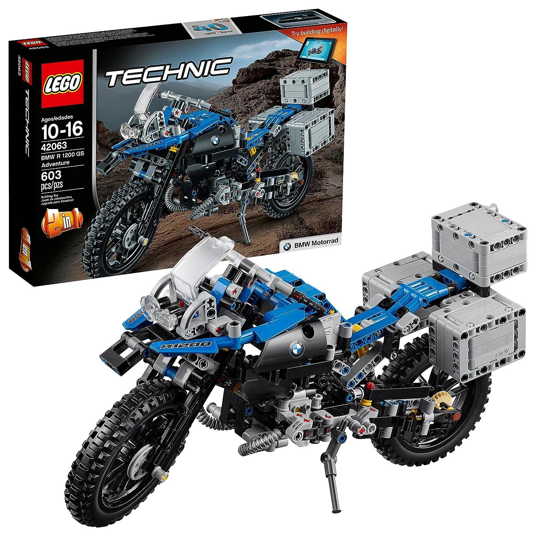e5d9be593dae LEGO Juego de Construcción Technic BMW R 1200 GS Adventure (42063)   Amazon.com.mx  Juegos y juguetes