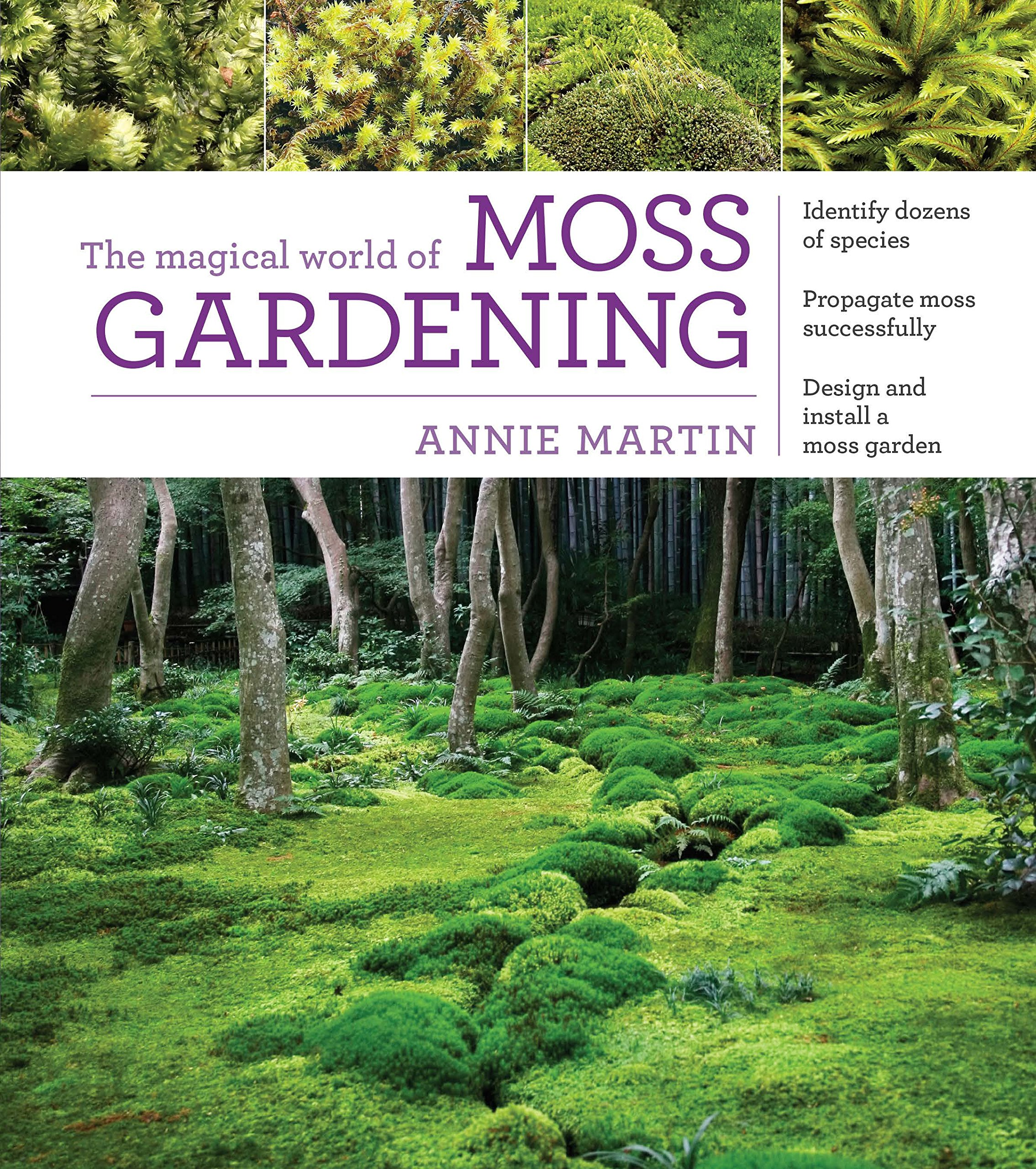 The Magical World Of Moss Gardening: Annie Martin: 9781604695601:  Amazon.com: Books