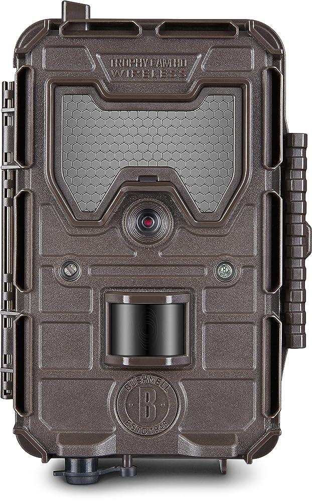 8. Bushnell 119599C2 Trophy Cam HD Aggressor 14MP Wireless Trail Camera