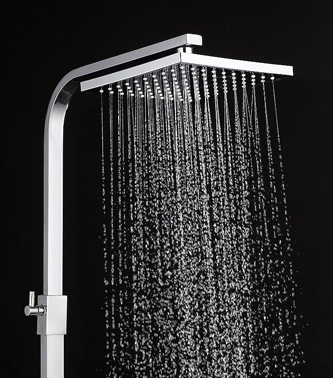 DP Grifería, modelo Obsidiana - Set de ducha sin grifo (barra ...