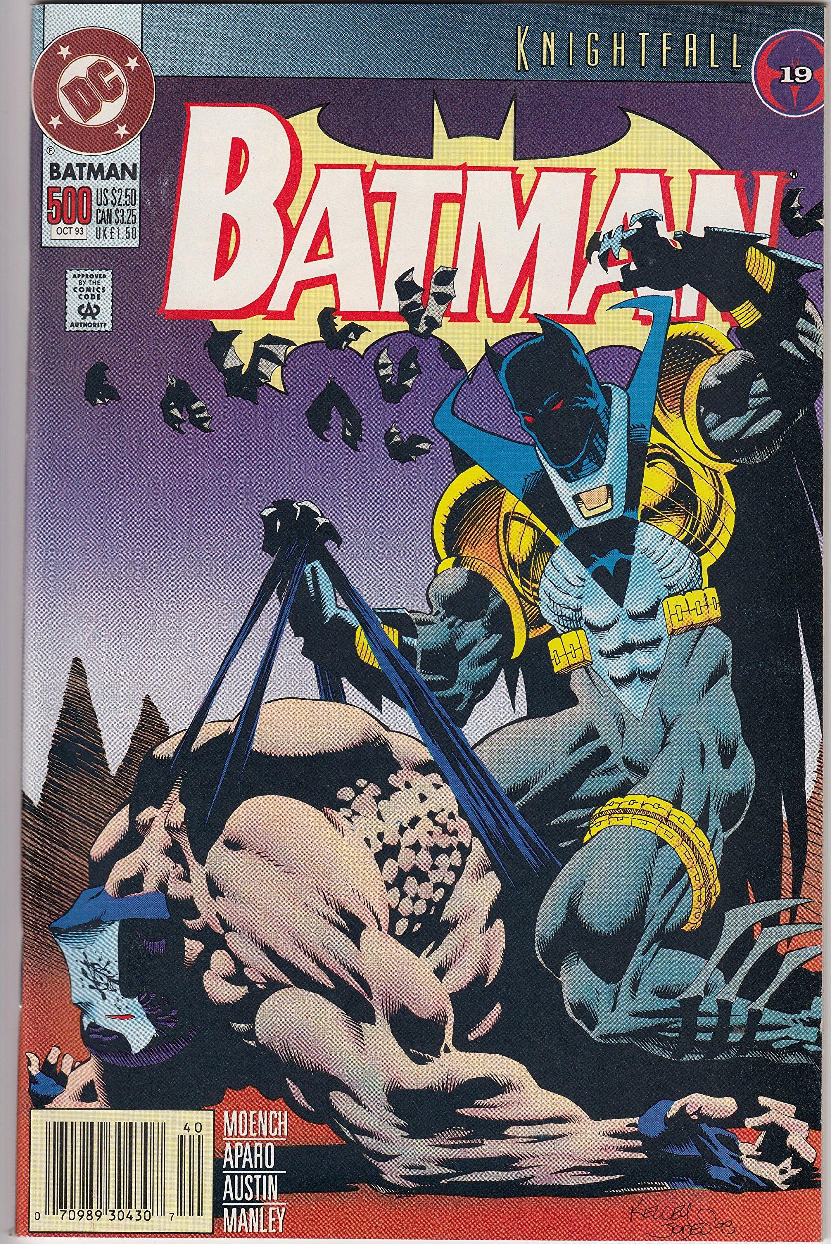 Amazon.com DC Comics Batman Comic Issue 15 Oct Knightfall, 15 ...