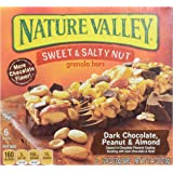 General Mills Nature Valley Sweet and Salty Dark Chocolate Peanut, 7.44 Ounce