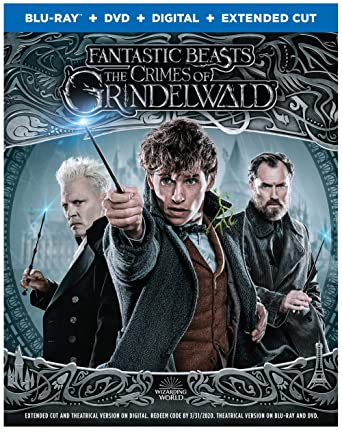 Amazon com: Fantastic Beasts: The Crimes of Grindelwald (Blu-ray +