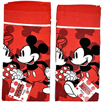 Amazon.com: Disney Dish Towels 2 Piece Set Kitchen Cloth (Mickey ...