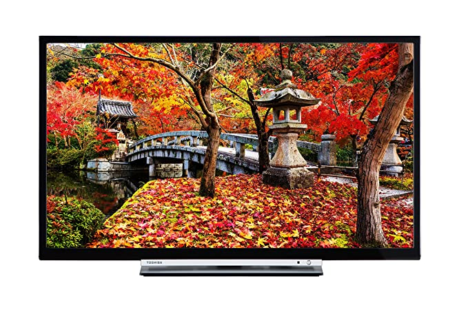7351be55b Toshiba 32L3753DB 32-Inch Smart Full HD LED TV with Built-in Freeview Play  - Black (2017 Model): Amazon.co.uk: TV