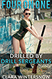 Four on One: Drilled by the Drill Sergeants (English Edition)