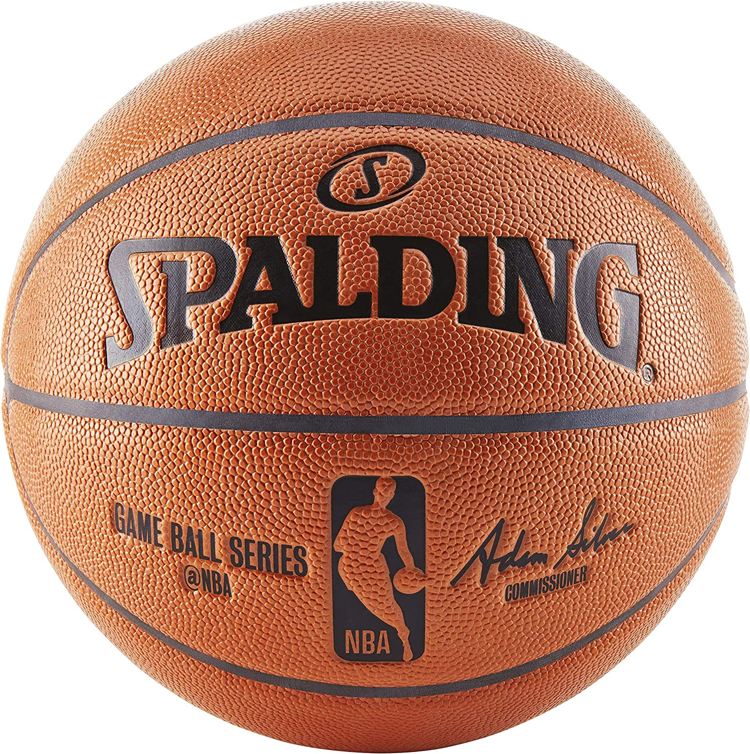 Spalding NBA Replica Indoor-Outdoor Game Ball Series Basketball