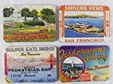 San Francisco souvenirs Refrigerator magnets set of
