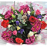 Homeland Florists Large Mixed Bouquet with a Single Luxury Naomi Velvet Rose at its Heart, Red