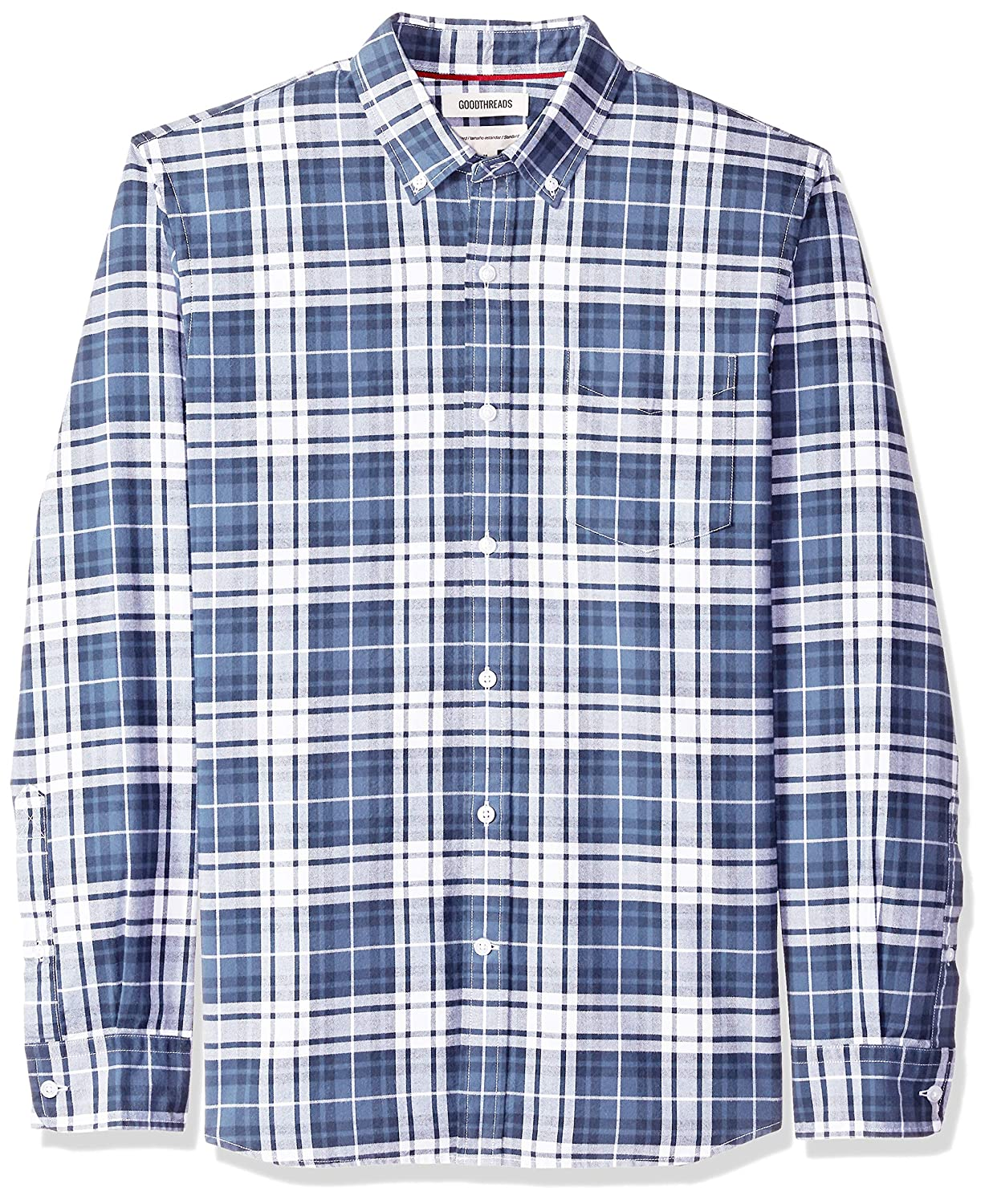 TALLA US XXL (EU XXXL - 4XL). Goodthreads Standard-fit Long-Sleeve Oxford Shirt - Camisa Hombre