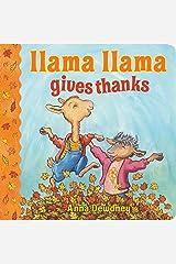 Llama Llama Gives Thanks Board book
