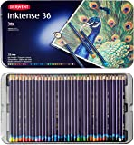Derwent Colored Pencils, Drawing, Watercolor, Art, Inktense Ink Pencils, 36-Pack (2301842)