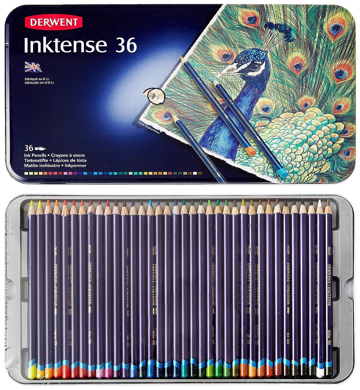 Derwent Inktense pencils | Sandrine's Gallery