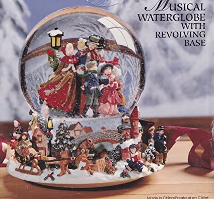 Kirklands Christmas.Amazon Com Kirkland Signature Musical Waterglobe With