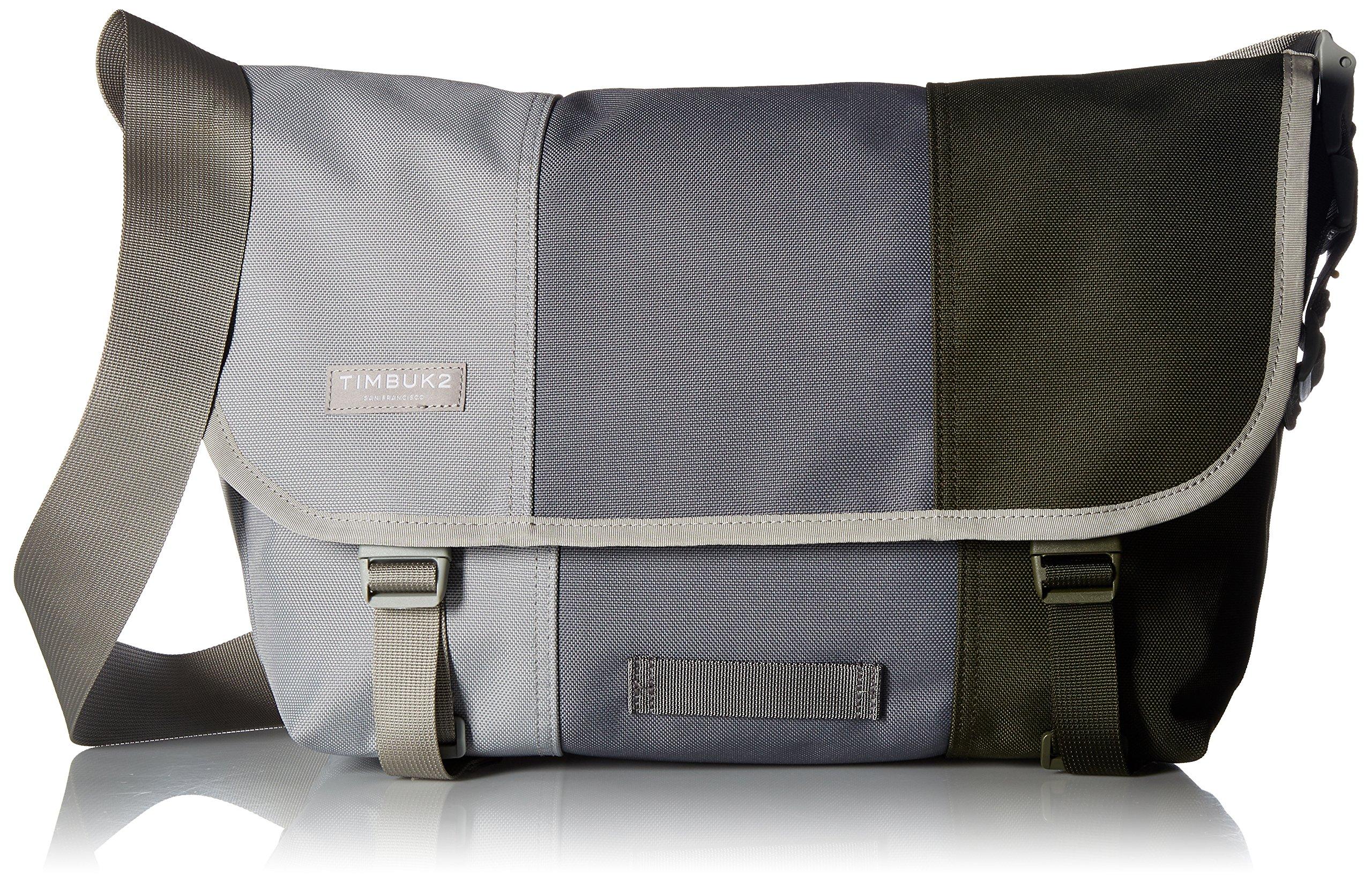 Timbuk2 Classic Tres Colores Messenger Bag, Cinder, Medium
