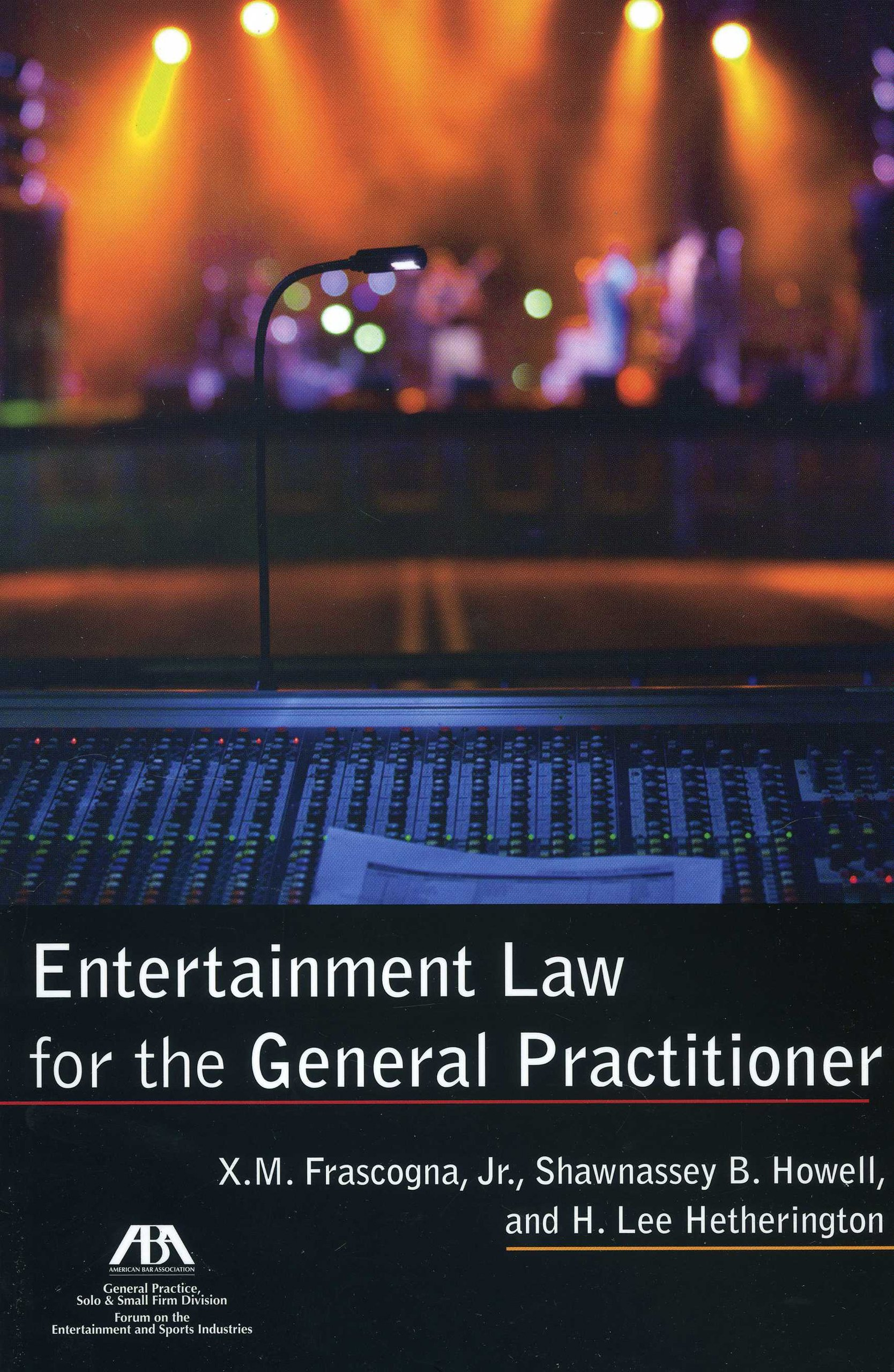 Download Entertainment Law for the General Practitioner pdf epub
