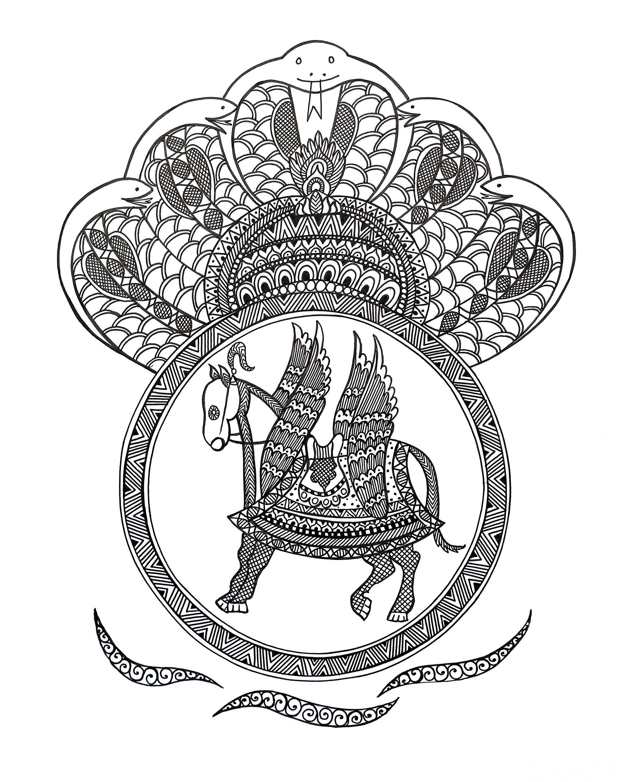 Incarnation of Lord Vishnu-Kalki by