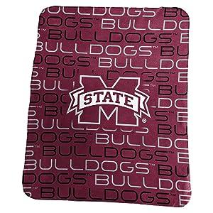 """Collegiate 50x60"""" Classic Fleece Throw Blanket"""