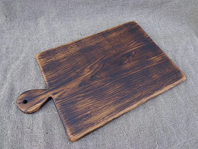 amazon com traditional rustic cutting board wooden serving board