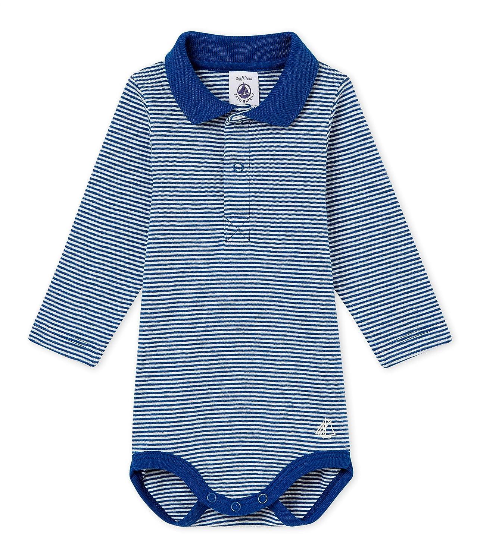 Petit Bateau Baby-Jungen Formender Body 45560