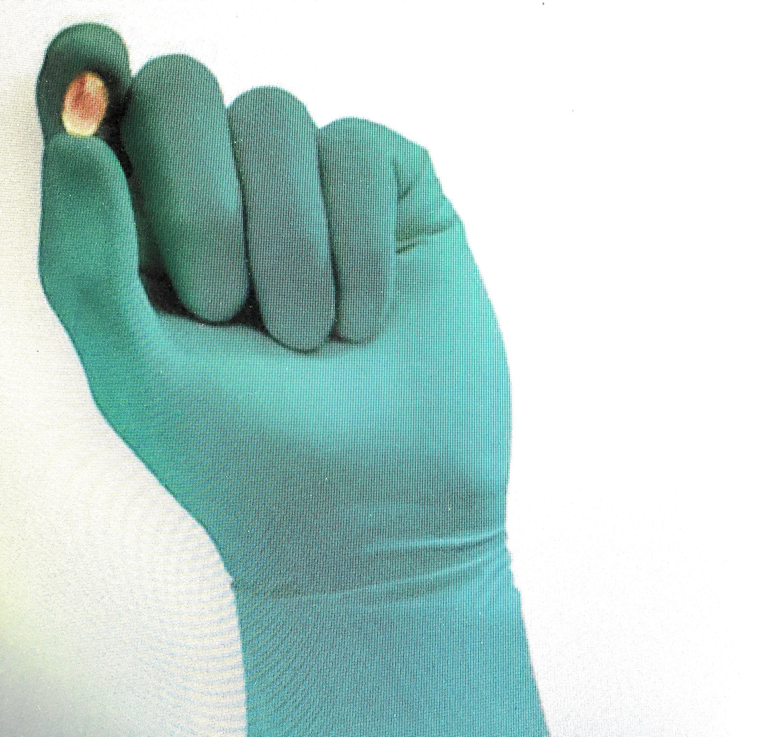 Cleanroom Gloves, Size 7, 7 mil, PK200