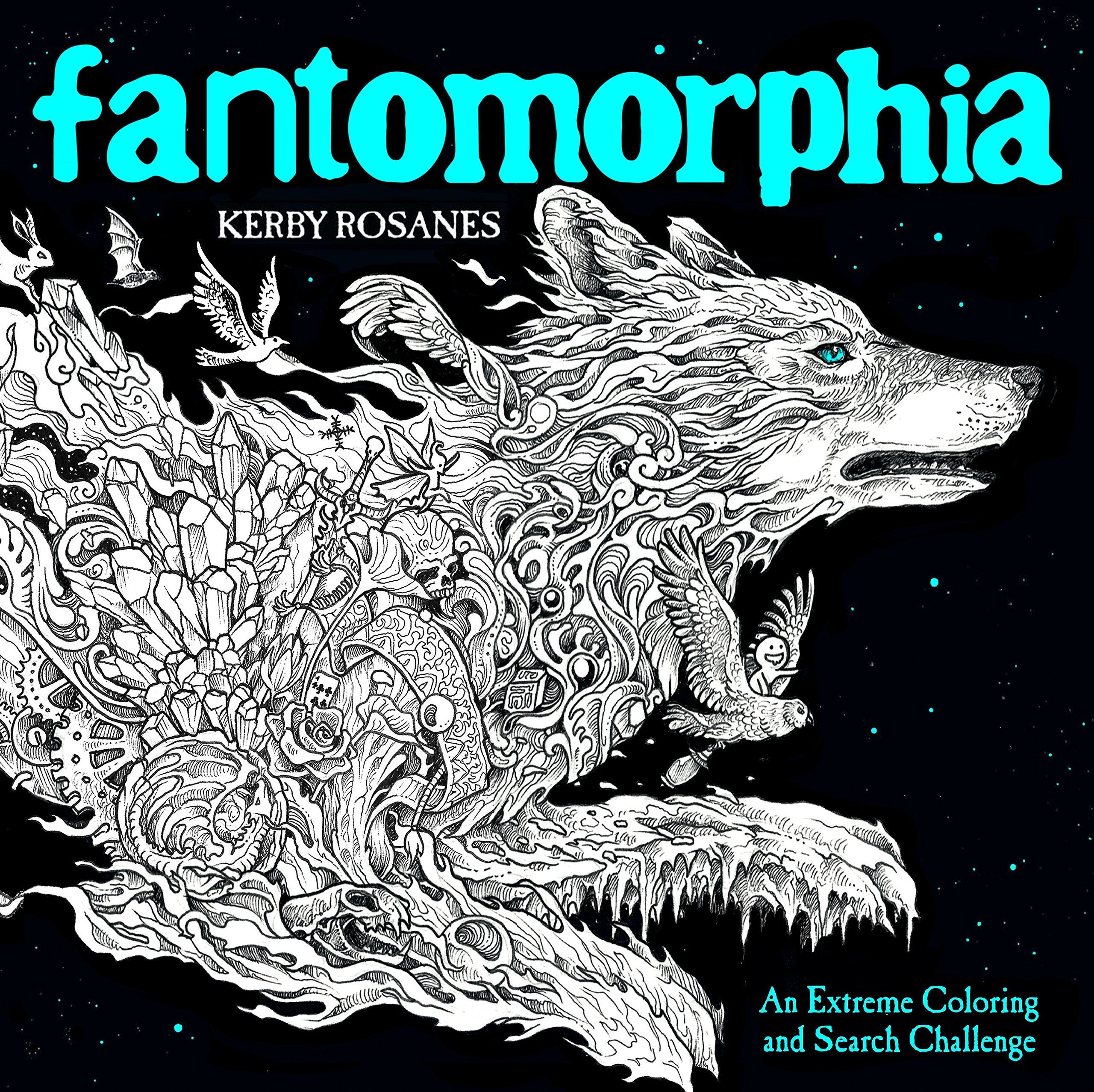 Amazon Com Fantomorphia An Extreme Coloring And Search Challenge 9780525536727 Rosanes Kerby Books