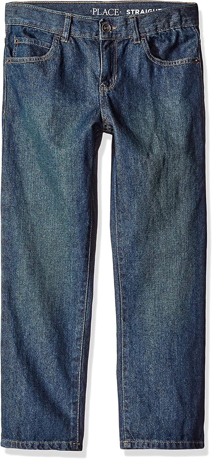 The Childrens Place Boys Straight Leg Jeans