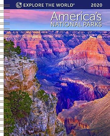 Amazon.com: Americas National Parks Calendario semanal de ...