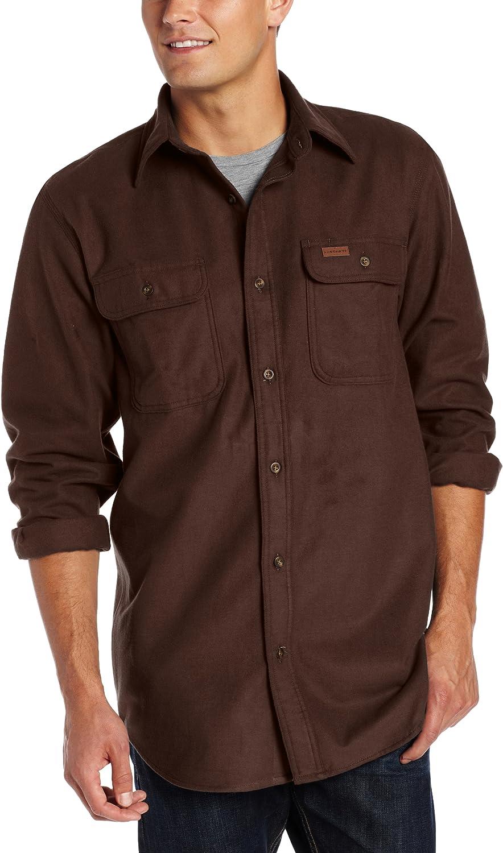Carhartt Mens Chamois Button Front Original Fit Shirt