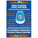 Boxer Adhesives Peel and Stick Vinyl Plastic Pool Patch