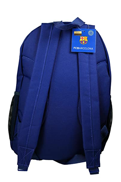 Amazon.com: FC Barcelona Official Licensed Messi School Cinch Shoes Soccer Backpack 03: Sport Fanaticas