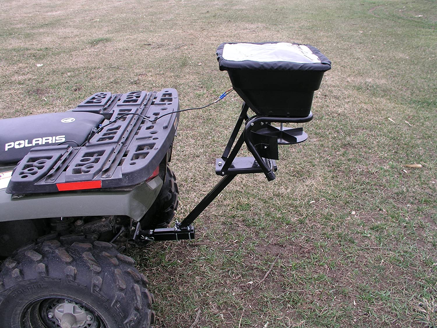 Field Tuff AS-80ATV12 Receiver Mount Spreader, 80-Pound TRI Global Enterprises