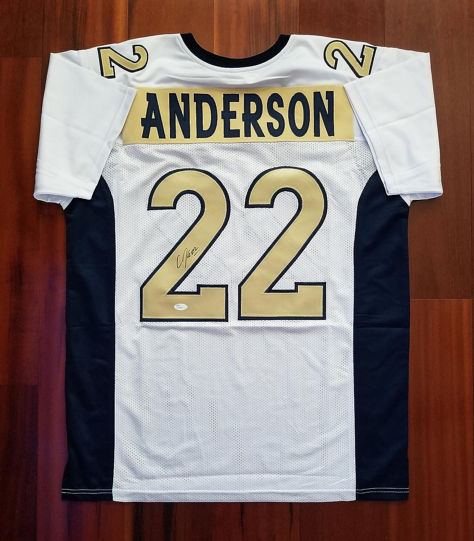 Amazon.com: CJ Anderson Signed Autographed Jersey Denver Broncos ...