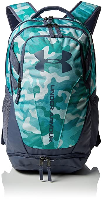 brand new d0586 2b1ce Under Armour 30 Ltrs Blue Infinity Apollo Gray Apollo Gray Laptop Backpack  (UA Hustle 3.0 Backpack)  Amazon.in  Bags, Wallets   Luggage