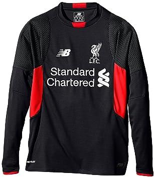 New Balance Liverpool FC - Camiseta de Manga Larga para Hombre, Talla XL, Color